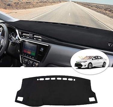 Cartist Dashboard Mat Cover for 2019 2020 2021 Toyota Corolla Dash Cover Nonslip Dashboard Mat Protector Sunshade No Glare