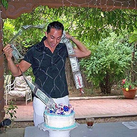 Salvadanaio per Torta ATM Asseny Salvadanaio per Dolci tirando Decorazioni a Sorpresa Non tossiche per la Festa di Compleanno