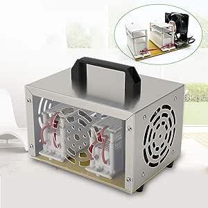 YiWon 20000 MG/h Generador de ozono Purificador de Aire Esterilización Generador de ozono Ozonizador 20 g/h Desinfección con ozono para el hogar Apartamento Oficina ...