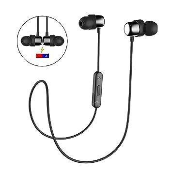 f4829b8ac14 Havit Bluetooth Waterproof Sport Headphones Running Headsets , IPX5  Waterproof Earbuds , Wireless V4.2 Bluetooth Headset, Stereo ...