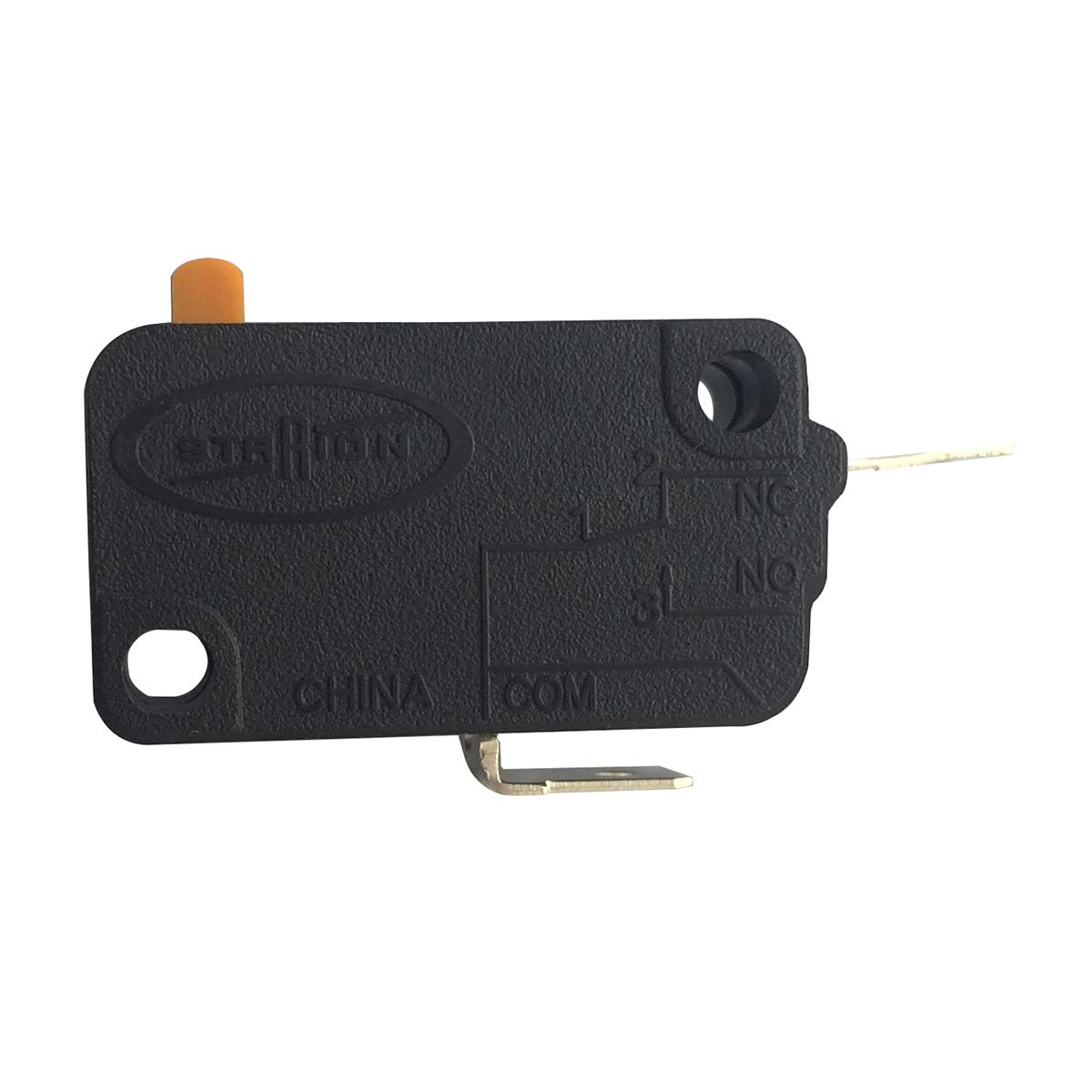 Pack of 2 Normally Closed LONYE SZM-V16-FD-62 WB24X830 Monitor Switch RE2 for GE Starion Microwave WB24X0800 WB24X800 AP2024338 PS237422