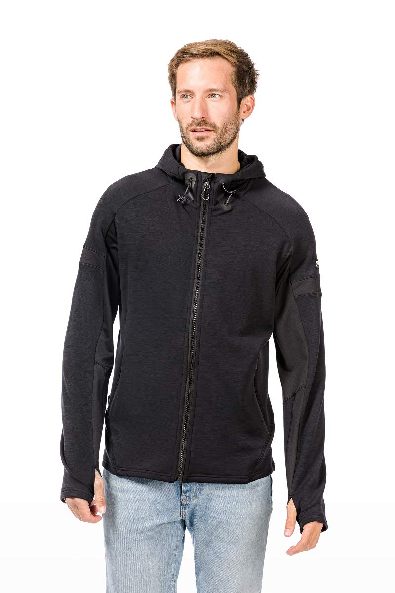 Super.natural Herren M Motion Zip Merino Hoodie