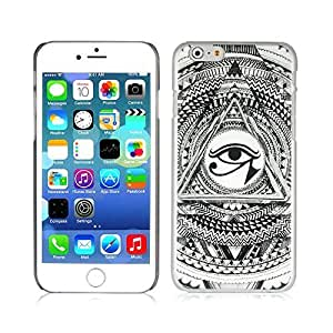 Generic Pyramid Illuminati Don't Trust Anyone Triangle Hard-Shell Cell Phone Case for iPhone 6 - Non-Retail Packaging - Multi Kimberly Kurzendoerfer