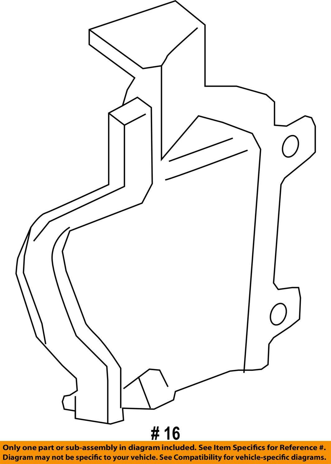 Jaguar OEM 17-18 F-Type 5.0L-V8 Radiator-Lower Deflector Right T2R20671 by Jaguar (Image #2)