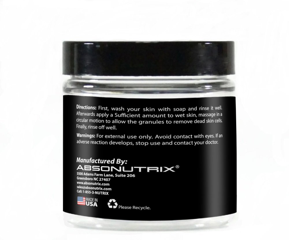 Amazon com : Absonutrix Sugar Scrub | No Added Chemicals