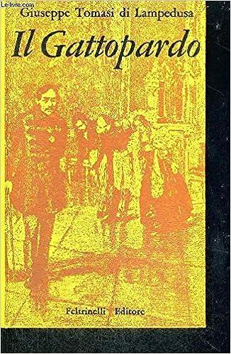 Amazon Fr Il Gattopardo Livre En Italien Livres
