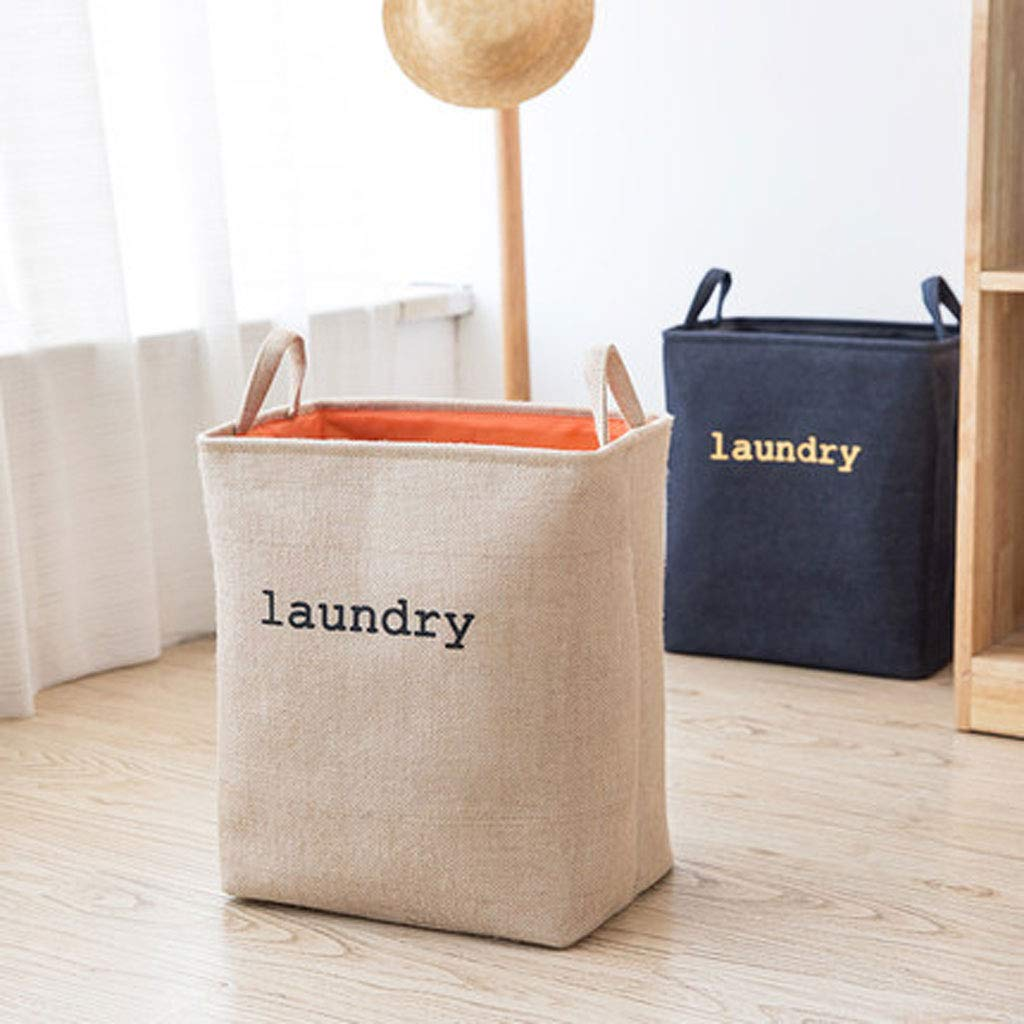 Laundry Basket | Basket Large | Collapsible (Color : Navy) by Laundry Basket (Image #4)
