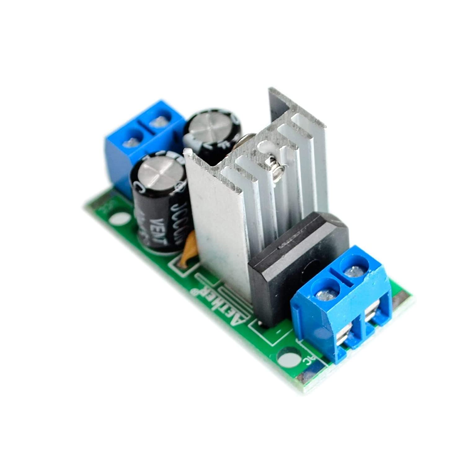 5PCS//LOT Step-down power supply module L7805 voltage regulator filter rectifier module AC output 5V DC 1.5A