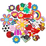 PP OPOUNT 30 Pieces Different PVC Shoe Charms for Bands Bracelet Wristband