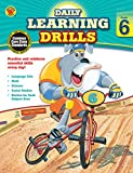 Daily Learning Drills, Grade 6, , 148380089X