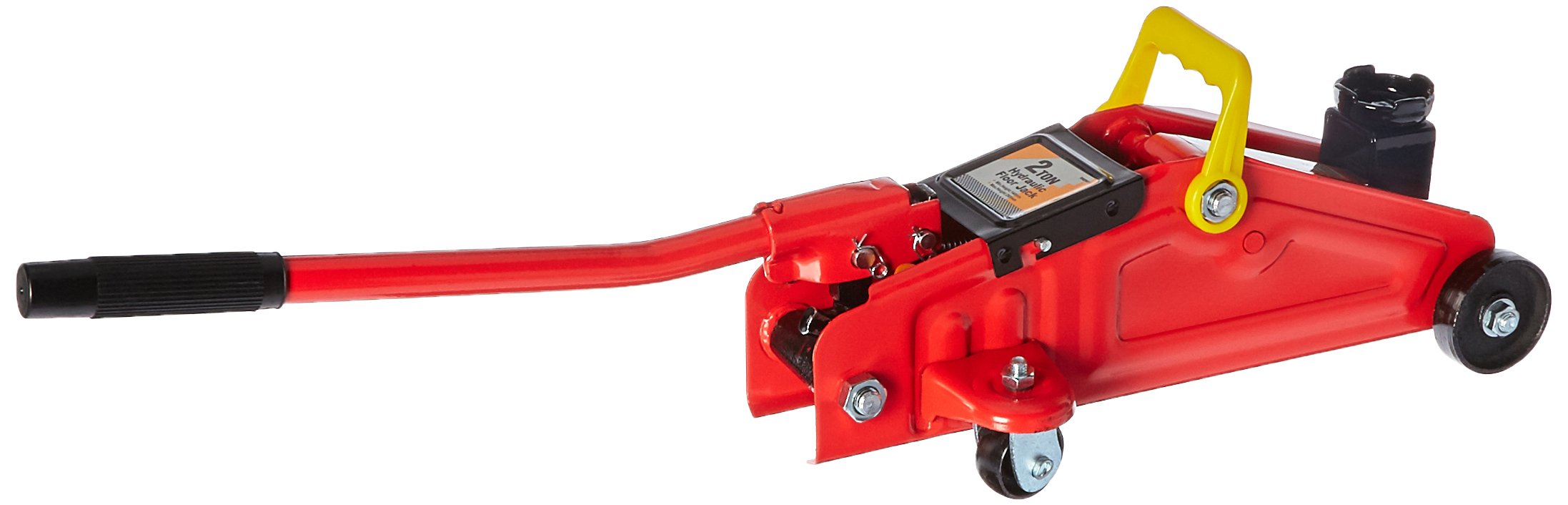 ATE Pro. USA 90103 2 Ton Hydraulic Floor Jack, 17.32'' Height, 6.3'' Width, 8.66'' Length