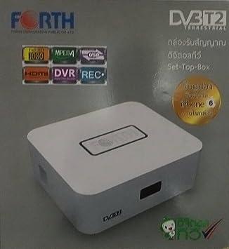 FORTH DV3T2 TERRESTRIAL DIGITAL TV SET TOP BOX: Amazon ca: Electronics