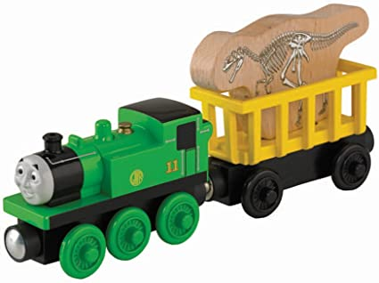 Thomas  Friends Fisher-Price Wooden Railway Oliver and Oliver Train
