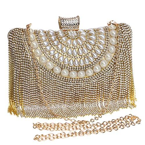 Dames Gold Europe Main Mariée Banquet Mode De unis États Embrayage Soirée Mini À Sac Glands Diamant EZxw1aZq