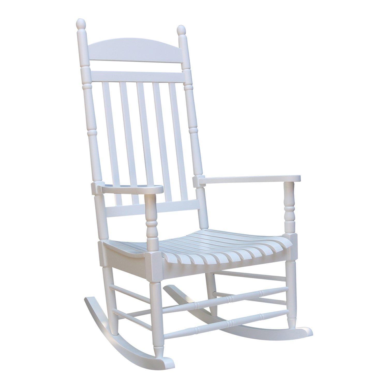 amazon com international concepts solid wood porch rocker chair