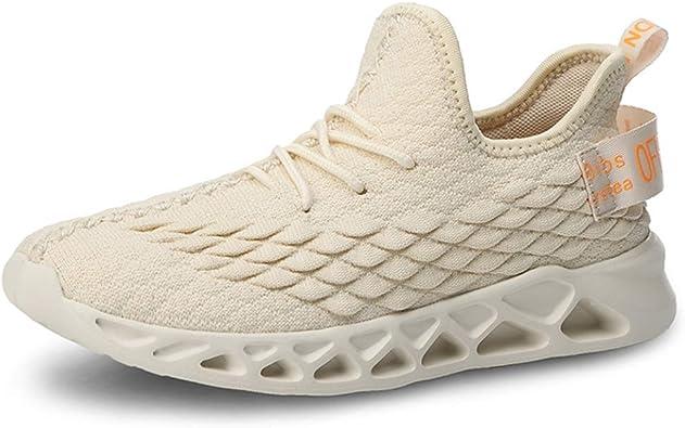 Zapatillas de Deporte para Mujer Zapatillas de Deporte de Malla Transpirable Ligera con Cordones Low Top Absorción de Golpes Primavera Verano Tallas Grandes 41 Zapatillas de Mujer: Amazon.es: Zapatos y complementos