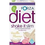 FORZA Shake It Slim Pasto Sostitutivo Frappè – Pasto Sostitutivo Bevanda in polvere 3x55g – Vaniglia