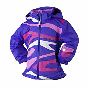 Amazon.com : Obermeyer Girls' Kismet Purple Waterproof Ski Jacket ...