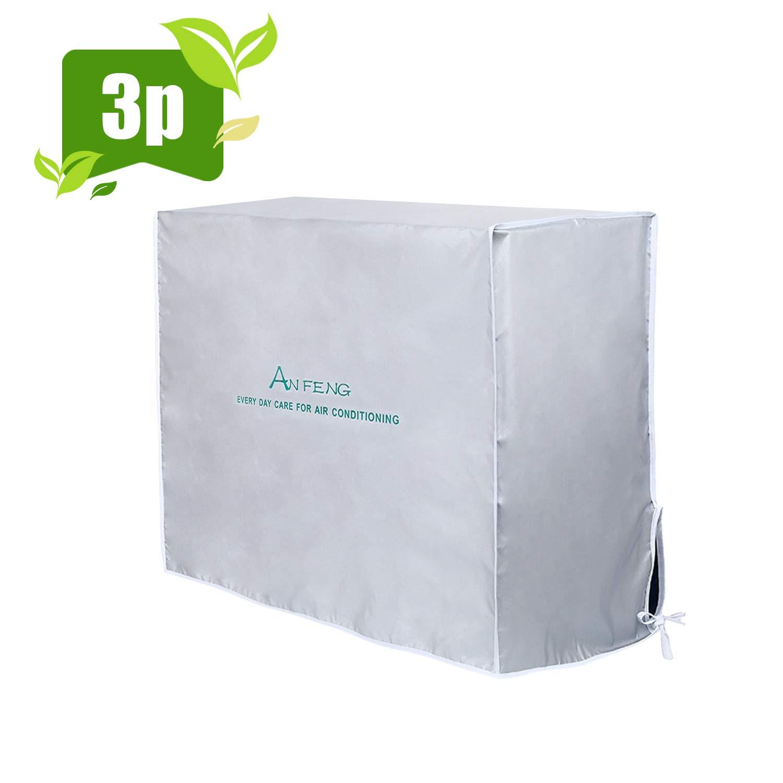 57CM 80 HOMEWINS Housse de Protection pour Climatiseur /Éxterieur Anti-poussi/ère Anti-Snow Anti-Solaire Imperm/éable 26