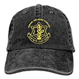 Israeli Defense Force Logo Washed Retro Adjustable Jean Cap Gym Caps ForMan And Woman
