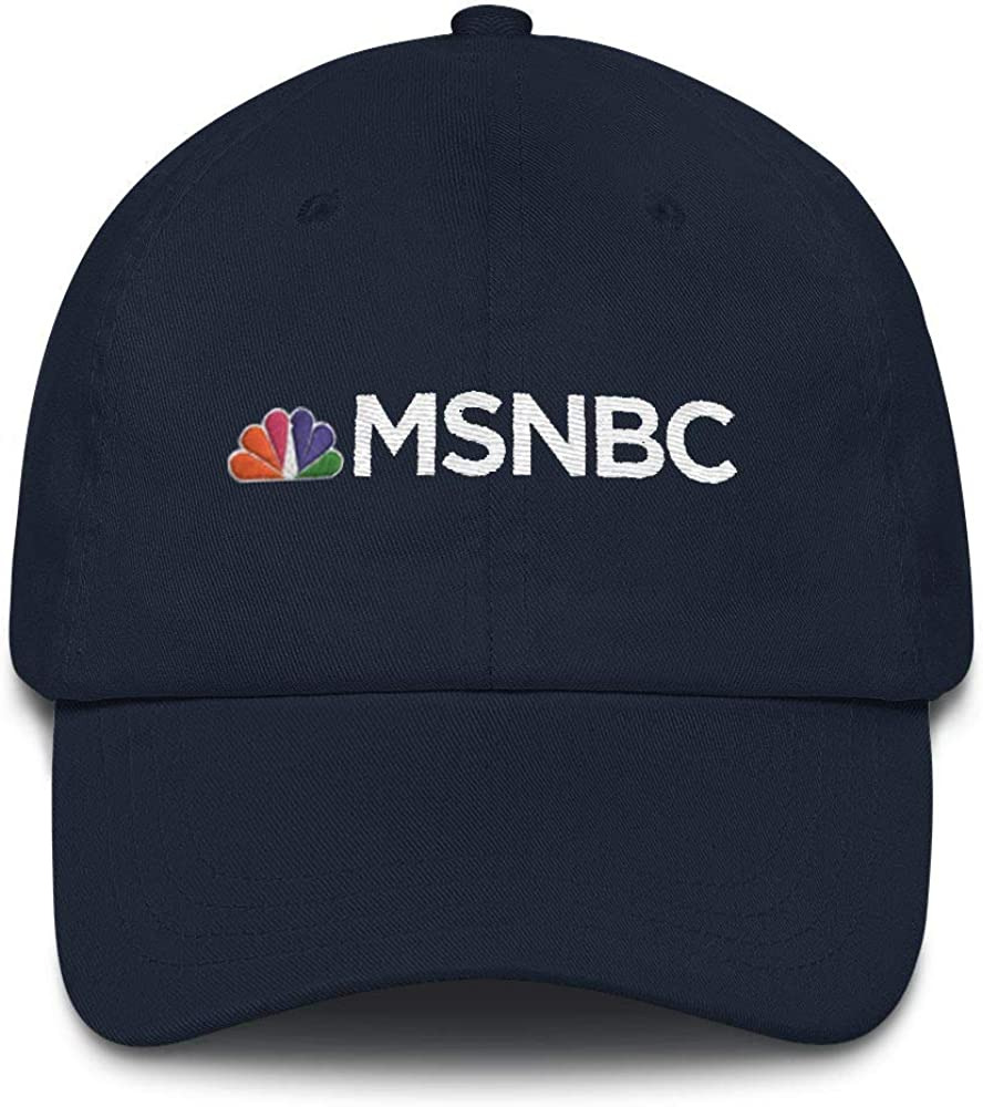 MSNBC Embroidered Logo Hat Navy