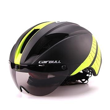 Casque de vélo Cairbull2017super léger 280g, casque de course cycliste avec lunettes de soleil, 6