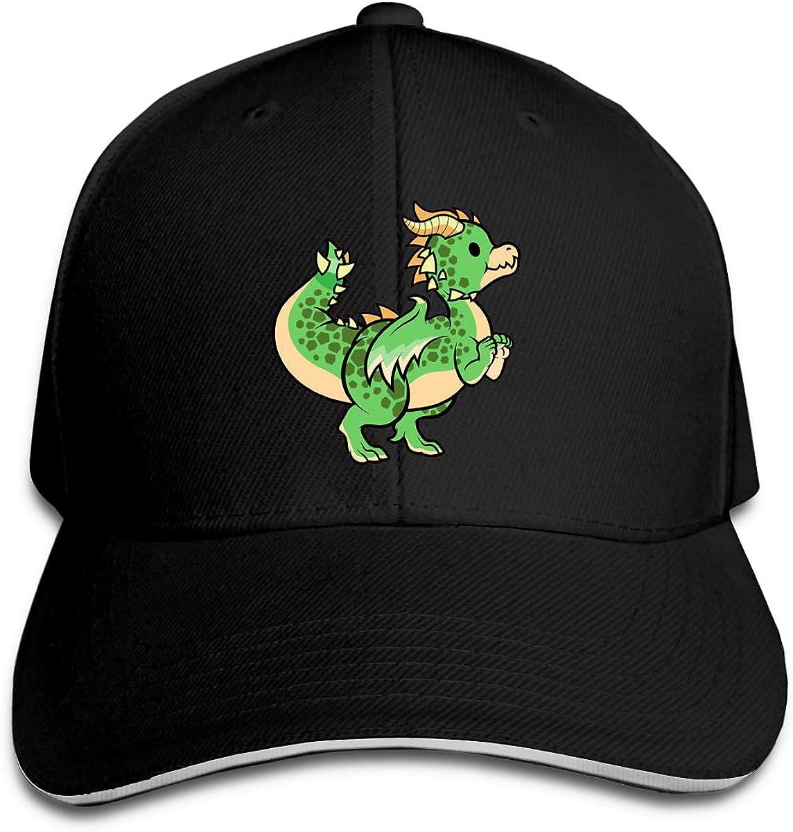 Precious Dragon Classic Adjustable Cotton Baseball Caps Trucker Driver Hat Outdoor Cap Black