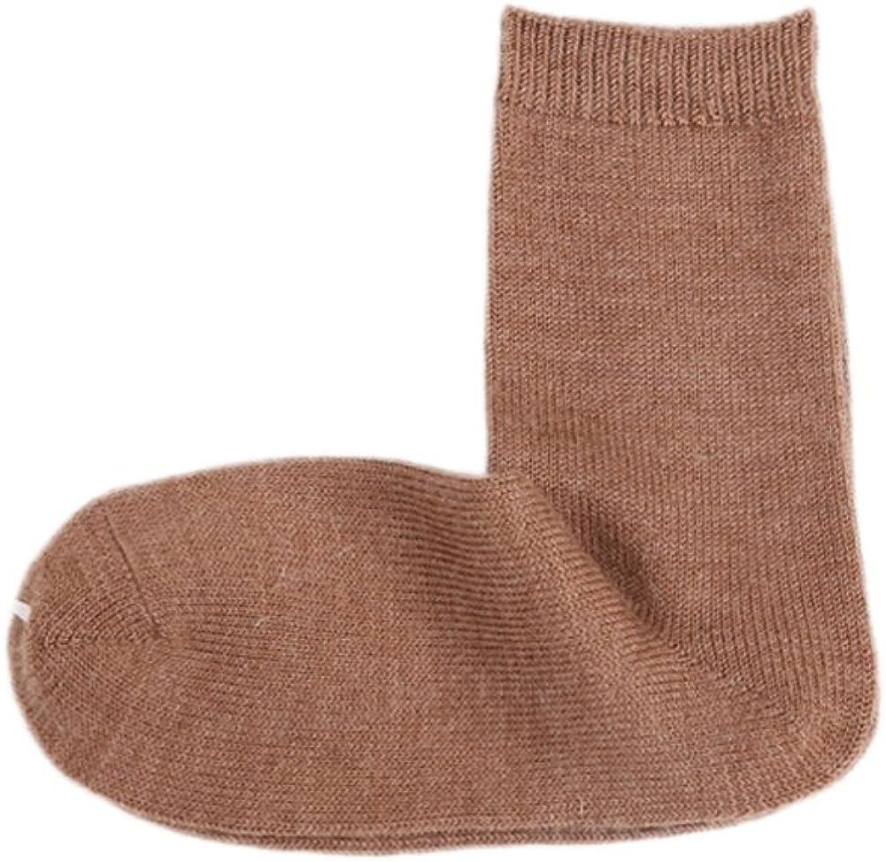 ECHERY Donna Ragazze di Inverno Normale Cavo Crew Socks Casual di Lana Termica Walking Hiking Boot Socks