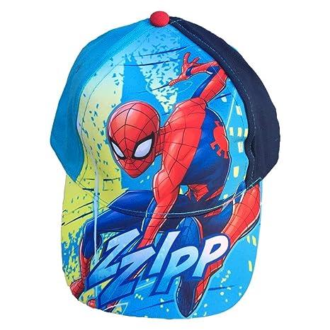 CAPPELLO Spiderman Uomo Ragno Marvel con Visiera Taglia Unica Regolabile -  MV15373 2 ae9136888267