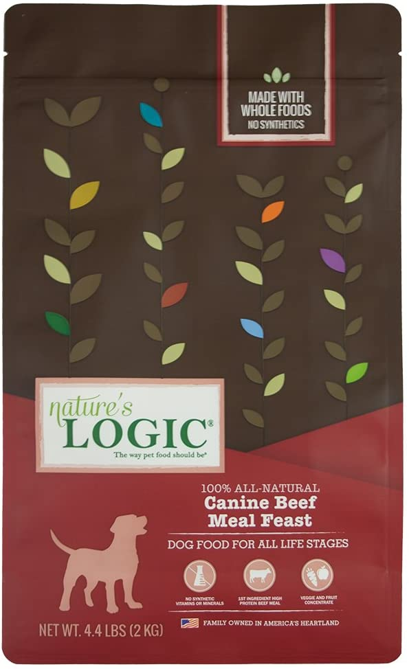 Nature'S Logic Dog Food Canine Meal Feast, Beef