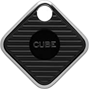 Cube Pro Key Finder Smart Tracker Bluetooth Tracker for Dogs, Kids, Cats, Luggage, Wallet, with app for Phone, Replaceable Ba