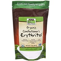 Now Foods Confectioner's Erythritol 454 g Organic Powder