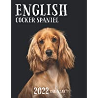 English Cocker Spaniel Calendar 2022: Great 18-month Grid Calendar 2022 from July 2021 to December 2022 for all fans!!!