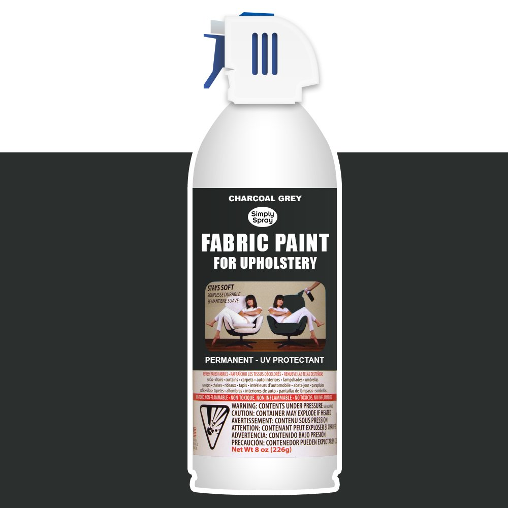 Amazon Com Simply Spray Upholstery Fabric Spray Paint 8 Oz Can