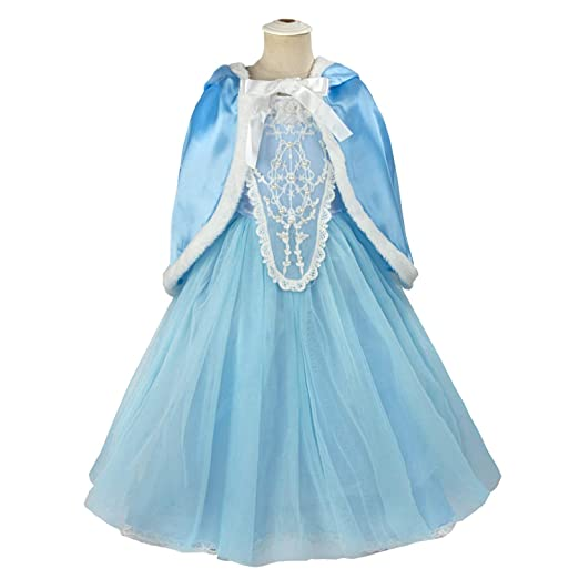 6d0ae41433 Acecharming Girls' Costume Cosplay Princess Party Fancy Dress Size S(4) Blue