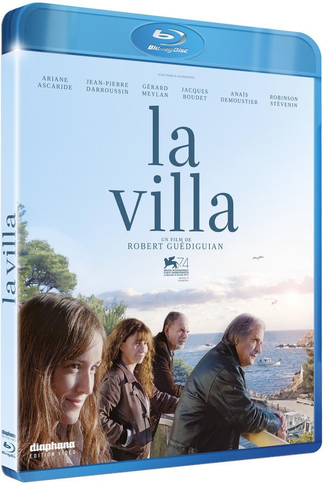 blu-ray du film LA VILLA