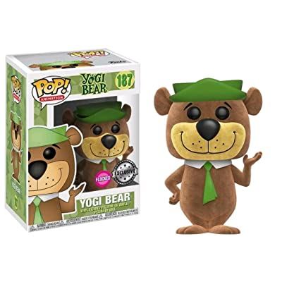 Funko Pop Animation Yogi Bear Flocked Vinyl Figure 187: Toys & Games