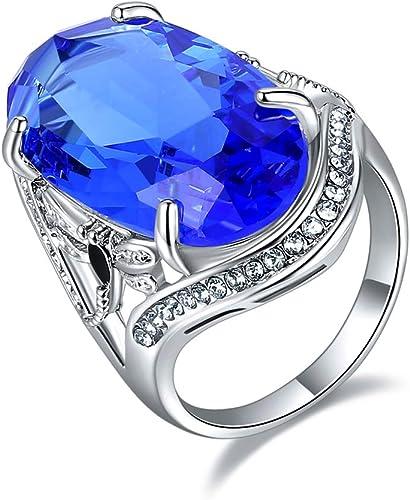 925 Sterling Silver Handmade Gemstone Turkish Sapphire Ladies Ring Size 8
