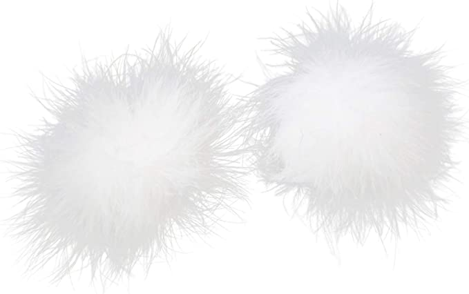 VALICLUD Copricapezzoli Pasticcini in Silicone Adesivi per Il Seno con Pasticci di Piume Rave per Le Donne 1 Paio