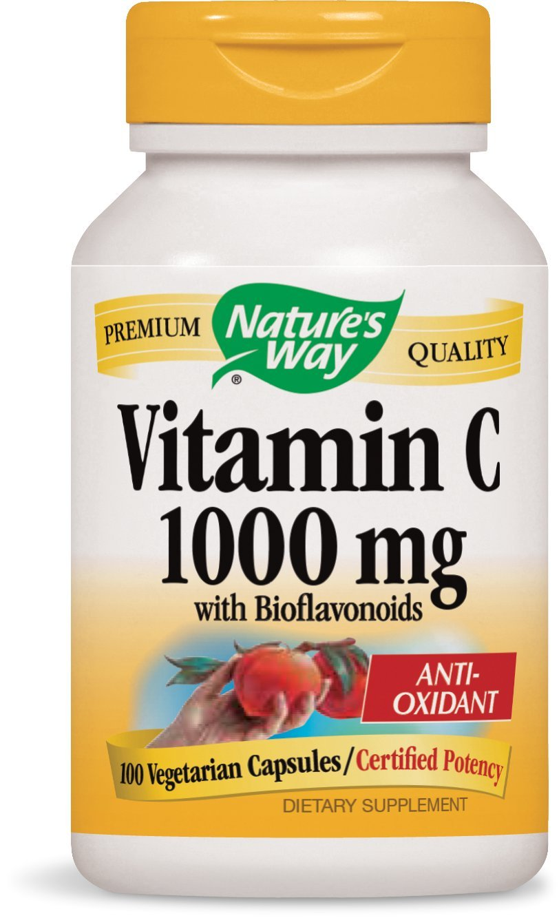 Nature's Way Vitamin C 1000 with Bioflavonoids, 100 Vcaps