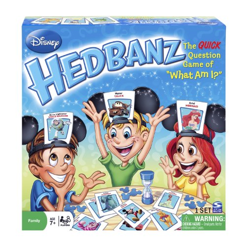 [Spin Master Games, Disney HedBanz 2nd Edition Board Game] (Disney Kids Game)