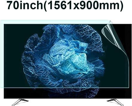 KUYUC 70 Pulgadas TV Protector de Pantalla, HD Anti luz Azul Anti-Reflejos Anti-Scratch Película Protectora para Monitor de Computadora LCD PC (Color : A): Amazon.es: Electrónica
