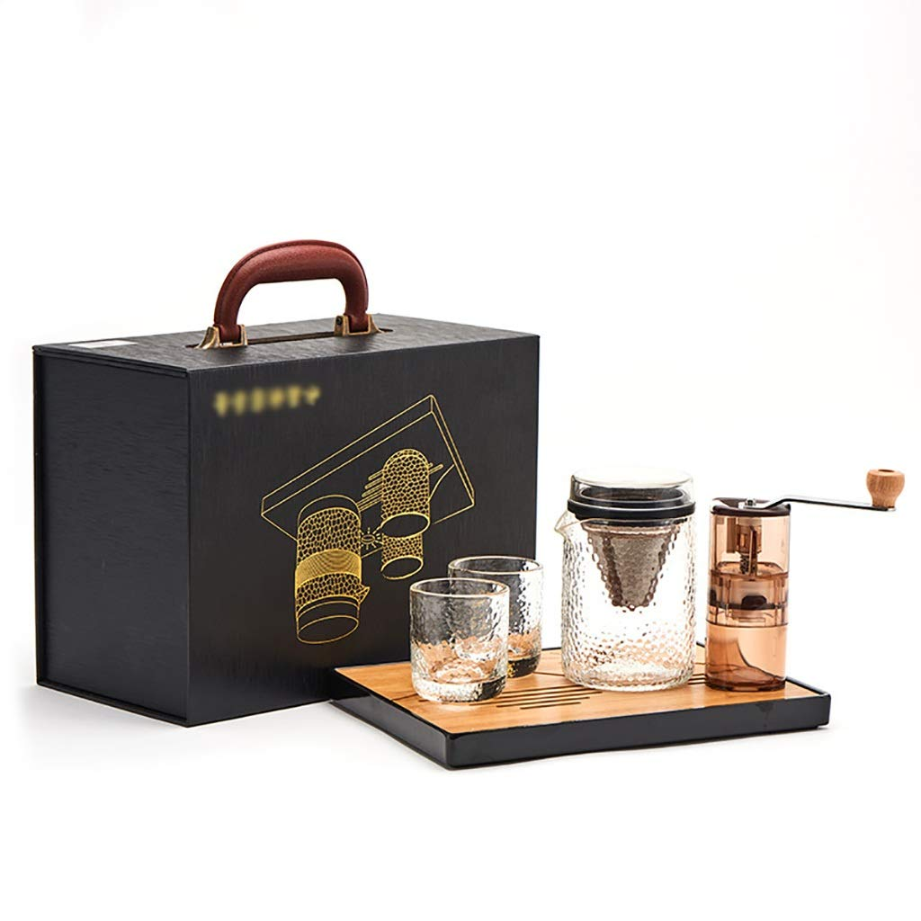 Acquisto FYHKF Caffettiera a Goccia Set per caffè e caffè Set per caffè e caffè Set per caffè e caffettiera Set di 5 Pezzi per caffettiera Prezzi offerta