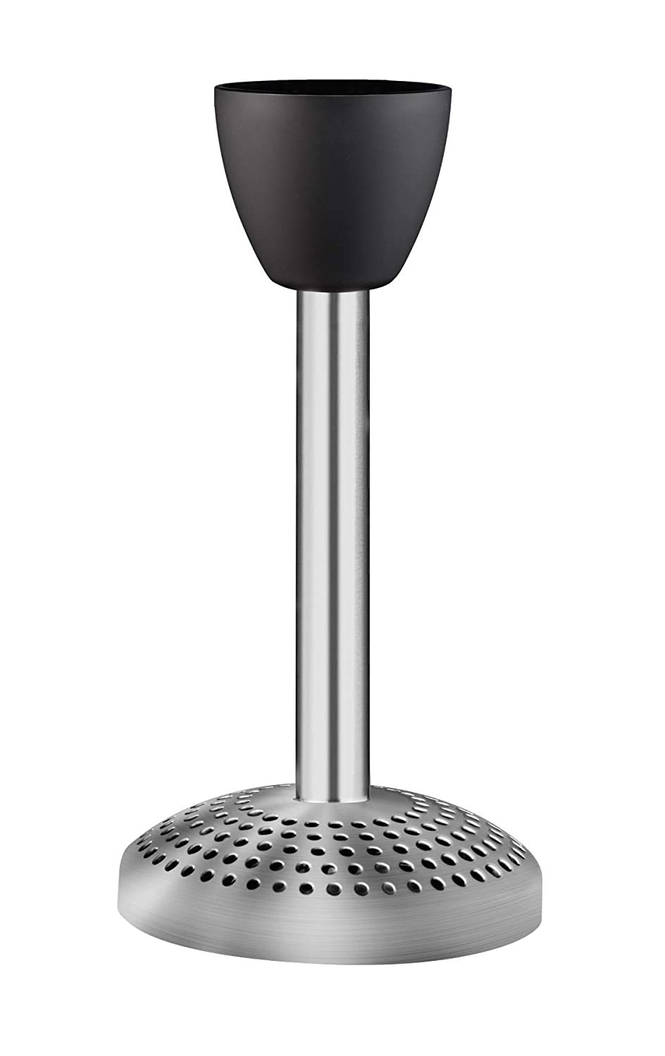 Chefman Electric Immersion Stick Masher Attachment Compatible with All RJ19 Hand Blenders, Purees Fruits and Vegetables, Blends Baby Food, Mashes Potatoes, Stainless Steel, FDA Approved Materials