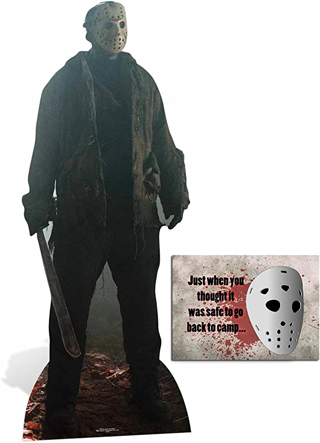 Standee Jason Voorhees Friday the 13th Lifesize Cardboard Cutout Standup