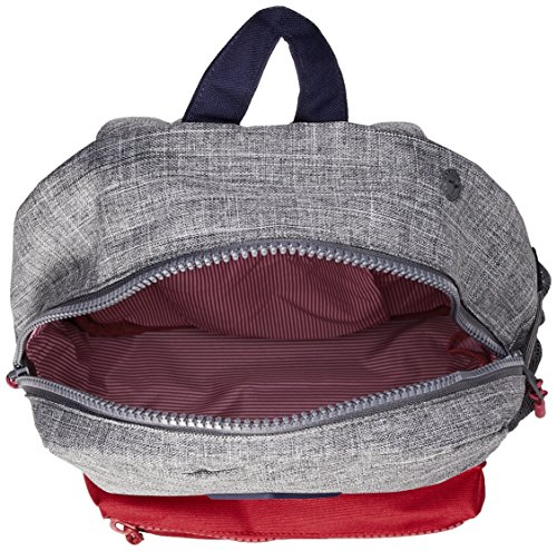 Herschel Supply Co. Kids' Heritage Youth Children's Backpack, Raven Crosshatch/Peacoat/Red, One Size by Herschel Supply Co. (Image #3)