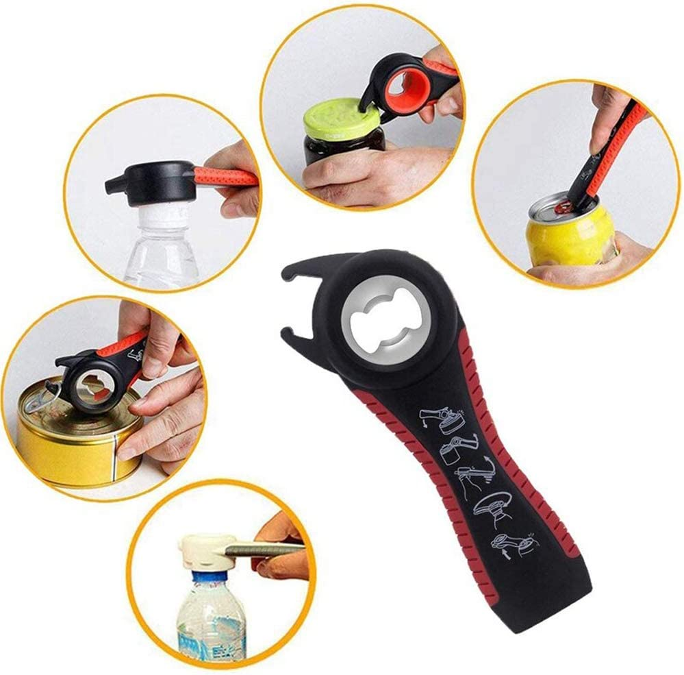 Malfunction Go Swing Topless Can Opener Bottle Lid Grip Remover Kitchen Tool