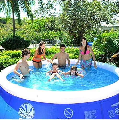 TY&WJ Hinchable Piscina Familiar Redondo, Extra Grande Engrosado Piscina Infantil para Baby & Children, Jardín Patio Trasero Verano Piscina A 457x122cm(180x48inch): Amazon.es: Jardín