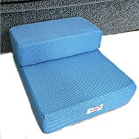 Foldable Pet Dog Cat Stairs Steps for Small Dog Breathable Mesh Dog Mat Cushion Bed Steps Ramp with Detachable Cover Pet Product
