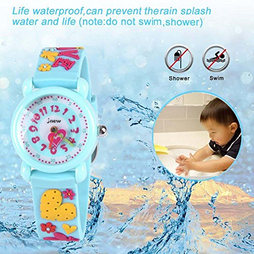 Gift for 3-10 Year Old Girls, Kids Watch for Kids Toy for 3-10 Year Old Girl Gift for Girl Age 3-10 Wristwatch Present for Birthday Little Girl Children by Kids Gift (Image #2)